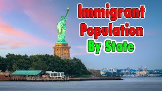 Top 10 Cities wİth the Most Immigrants.