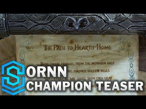 Ornn Teaser | New Champion