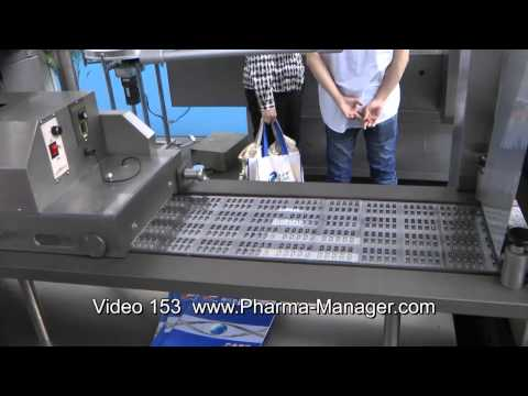 Blister Packaging Machine, Blister Packaging Of Tablets. Video 153 Www.Pharma-Manager.com