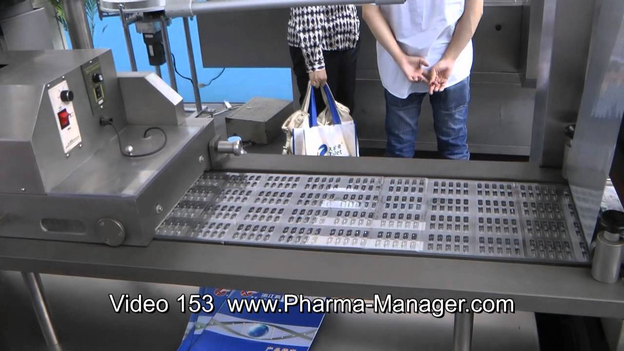 Blister Packaging Machine blister packaging of tablets