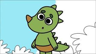 Раскраска - Котики, Вперед! - Большой букет - выпуск 31 - развивающие мультики для детей