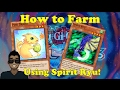Yu-Gi-Oh Duel Links - How to Farm Using Spirit Ryu (Outdated -- No longer Viable due to fix).