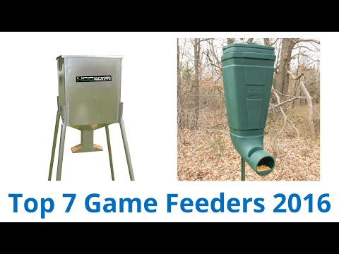 Banks Outdoor Deer Feeder 275# Feedbank - YouTube