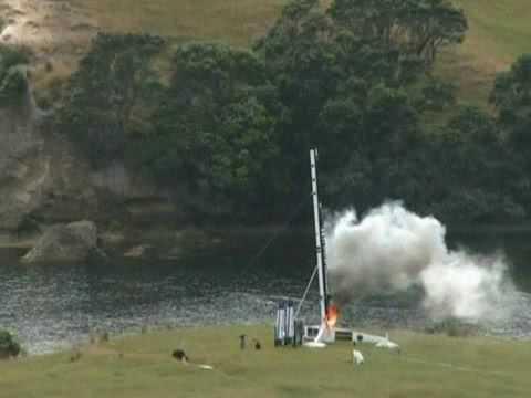 Rocket Lab : Ātea-1 Suborbital Rocket Launch (short version)
