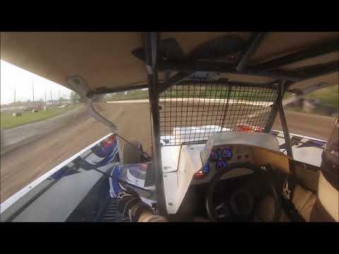 Sportsman Feature 5-26-18 Genesee Speedway in car