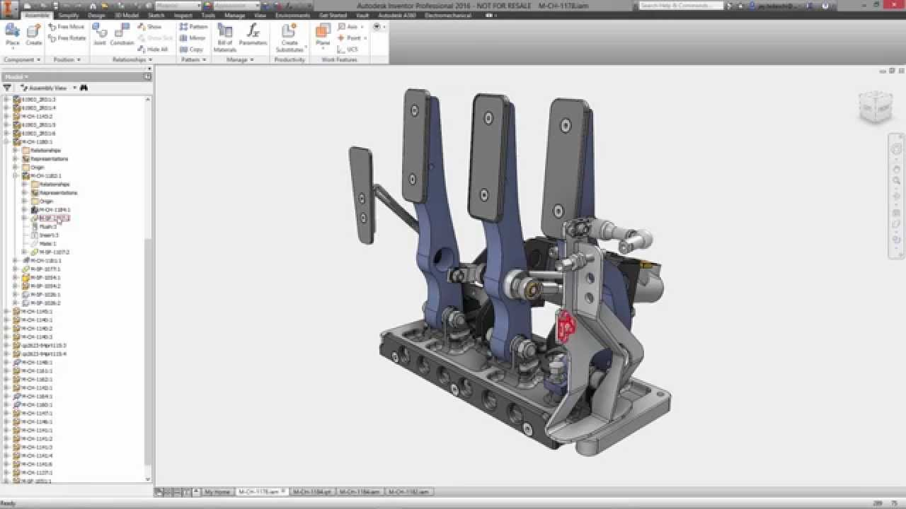 Autodesk Inventor Sheet Metal Design Youtube
