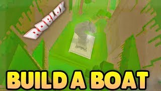 EXPLORING THE SECRET PLACE! | Build A Boat For Treasure ROBLOX