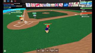 HomeRun Derby (Part 1) Roblox Professional Baseball League