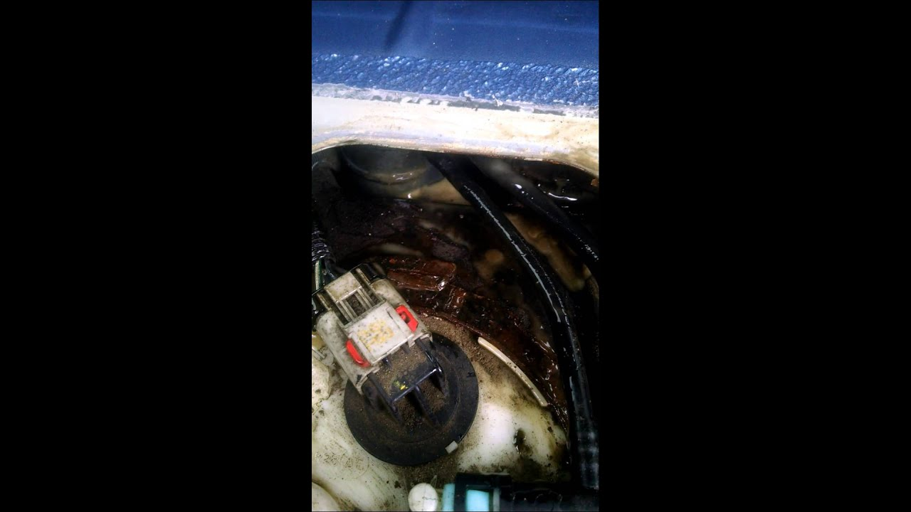 2003 Jeep Liberty Fuel Filter Location Replacement Youtube