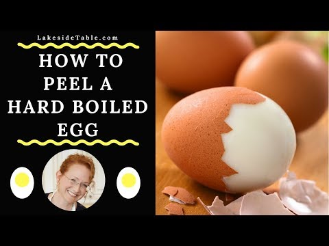 How to Peel a Perfect Hard Boiled Egg