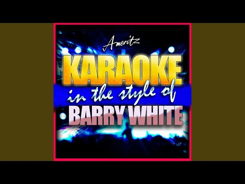 Staying Power (In the Style of Barry White) (Instrumental Version)