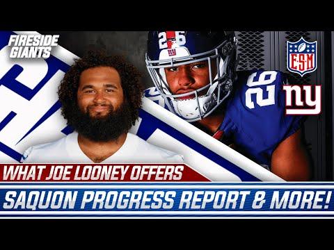 Discussing Joe Looney's Impact, Saquon Barkley Injury Update, More Giants Camp Takeaways!