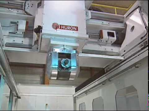 Cnc Milling Machine High S D 5 Axis Gantry Type Machining Center Huron Kxg45