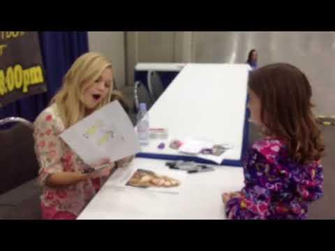 Audrey meeting Olivia Holt