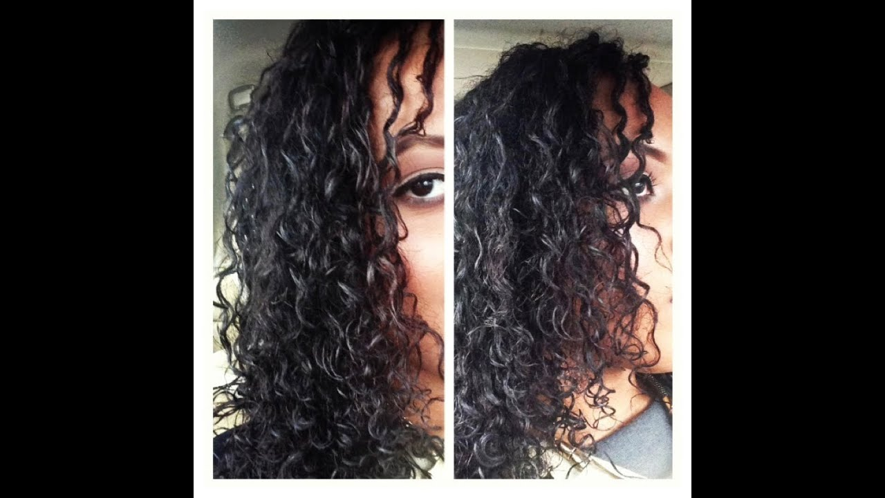 curly hair routine wash