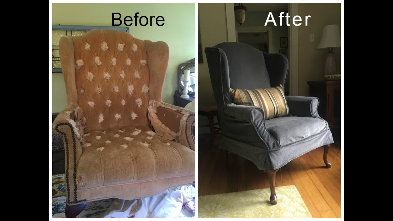 Old Chair Repair & Old Chair Repair - YouTube