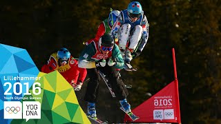 Ski Cross - Reece Howden (CAN) wins Men