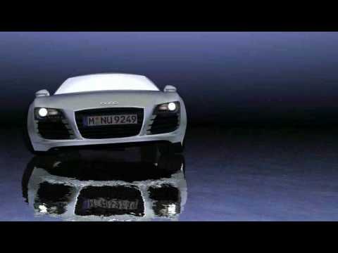 Audi r8 test animation