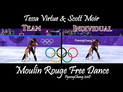 Tessa Virtue & Scott Moir - Moulin Rouge (Team & Individual Events) | PyeongChang 2018
