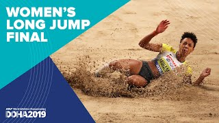 Women's Long Jump Final   World Athletics Championships Doha 2019