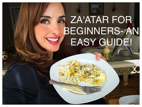 5 AMAZING BENEFITS OF ZA'ATAR AND HOW TO EAT IT!
