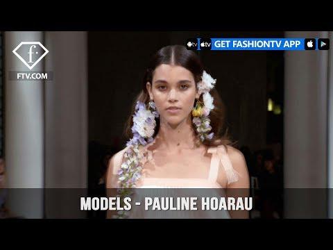 Pauline Hoarau Models Spring/Summer 2018   FashionTV   FTV