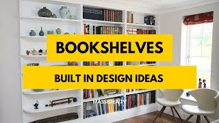 50+ Awesome Built In Bookshelves Design Ideas We Love!