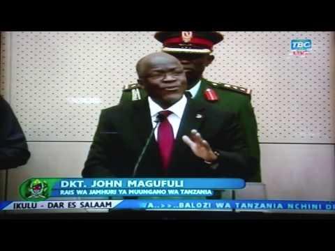 Sakata la  Madawa ya Kulevya :Rais Magufuli Ampa Tano Paul Makonda