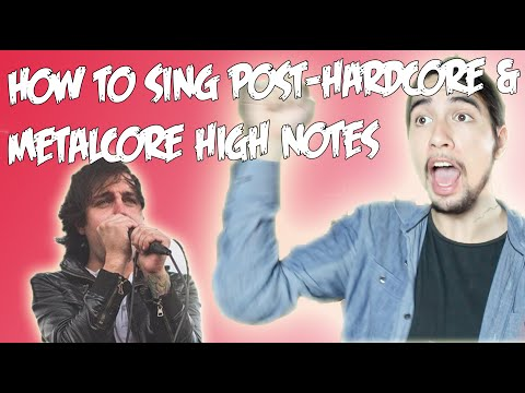 How To Sing High Notes Like Shayley Bourget, Aaron Pauley (Post-Hardcore, Metalcore Voice Lesson)