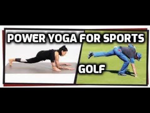 Power Yoga For Sports - Golf DVD