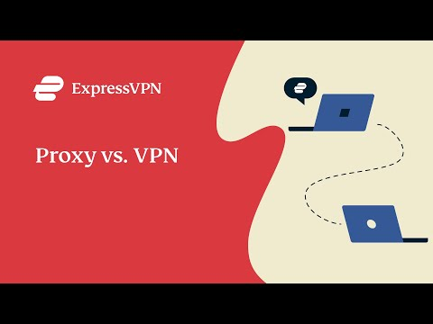 What's the difference between a proxy and VPN?