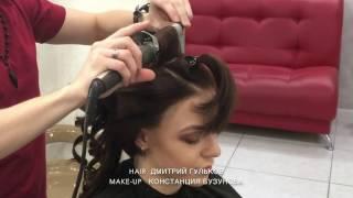 Прическа на короткие волосы, Школа ШТЭРН, Дмитрий Гульков