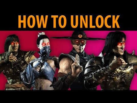 How to Unlock All Revenant Skins + Emperor Liu Kang & Empress Kitana!