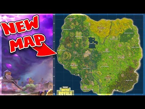 NEW Fortnite UPDATE : news map + towns