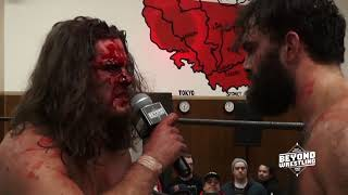 EXCLUSIVE: Aftermath of Joey Janela vs. David Starr | #HeavyLiesTheCrown 👑 replay at Powerbomb.TV