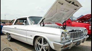 "Big Boys Customs Carshow : 1964 Impala on 22"" Billet Wheels"