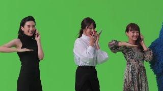 スマートフォン『UQ mobile』第2弾CM「のりかえる長女」篇メイキング映像配信! thumbnail