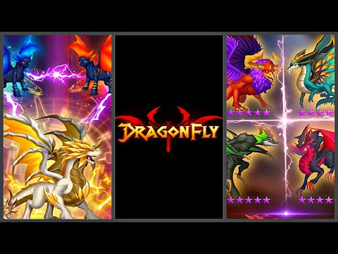 DragonFly: Idle games - Merge Dragons & Shooting (Gameplay Android) - [Android Fragments]🧩