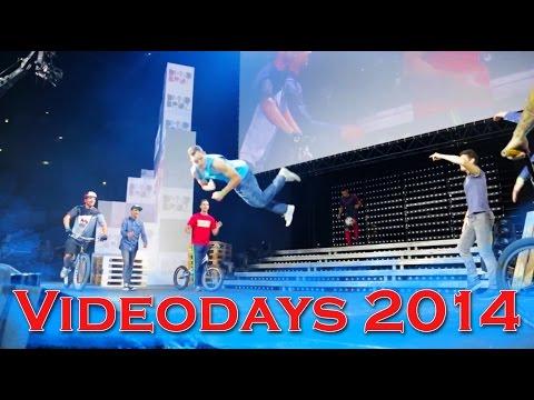 Parkour freerunning bmx breakdance biketrial fussball show  videoday 2014