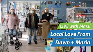 LIVE w/ Marsi in Southbury!! 🎥 Local Love From Dawn + Maria