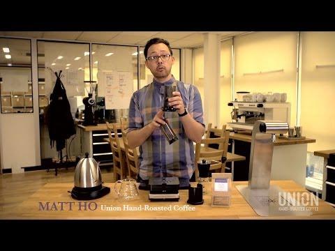 How to brew coffee in an Aeropress - Union Hand-Roasted Coffee