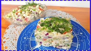 Салат с копченой грудкой и помидорами с сыром Простой рецепт салата с копченой курицей