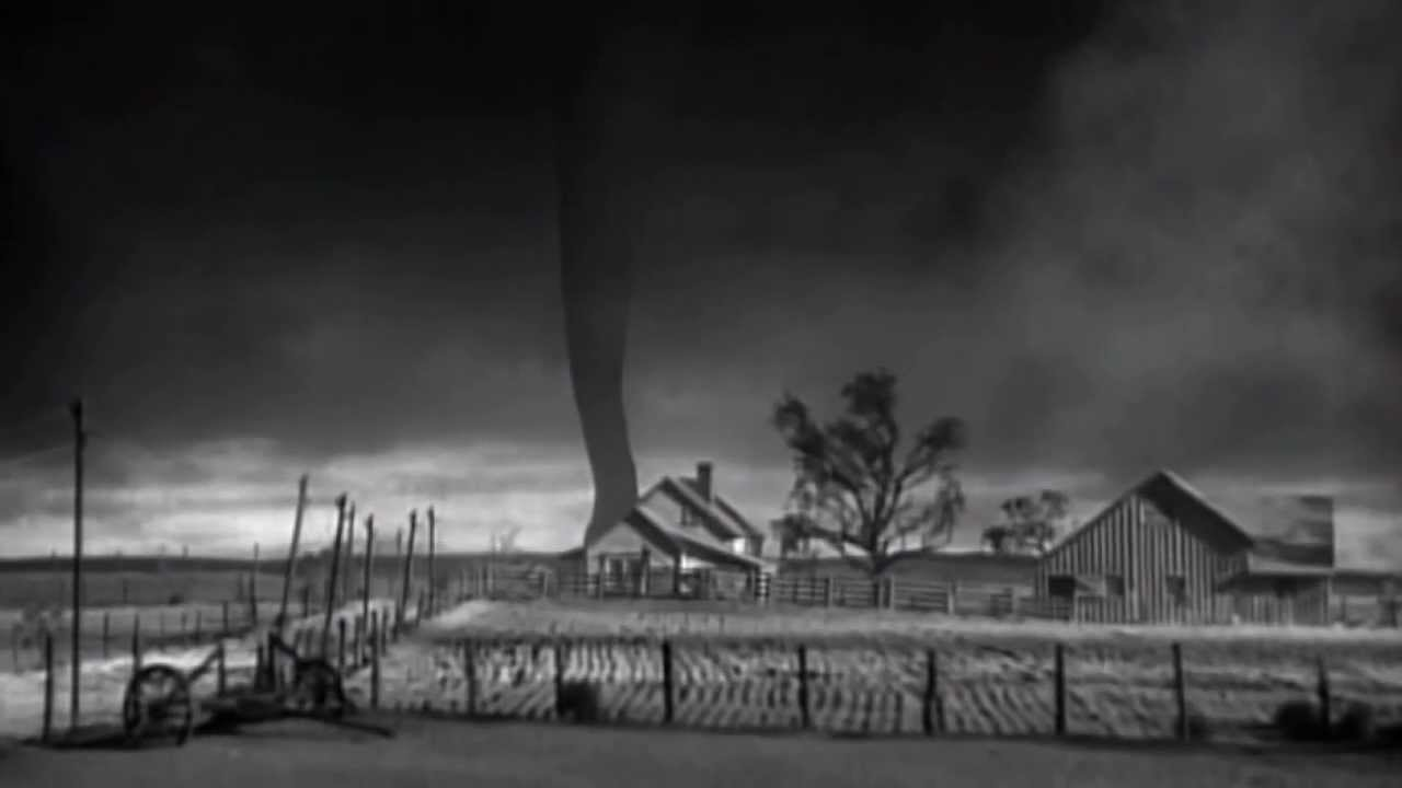 Wizard Of Oz Original Test Footage House Swallowed