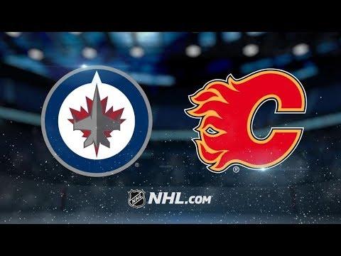 Winnipeg Jets Vs. Calgary Flames | NHL Game Recap | October 7, 2017 | HD