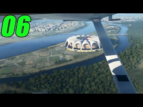 FLYING OVER NORTH KOREA | Microsoft Flight Simulator