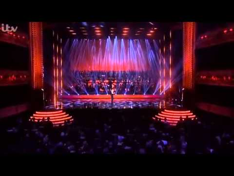 Kevin Spacey with Beverly Knight - Bridge over troubled water - Olivier Awards 2015
