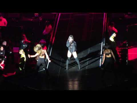 "Becky G ""Mayores"" at Enrique Iglesias and Pitbull Live!"