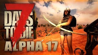 7 Days to Die #018 | Besoffen durch die Wüste | Alpha 17 Gameplay German Deutsch thumbnail