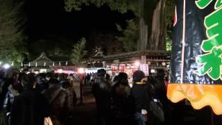 【2012~2013年】らき☆すたで有名な鷲宮神社の年越しの様子【初詣】 (Lucky Star~Saitama)