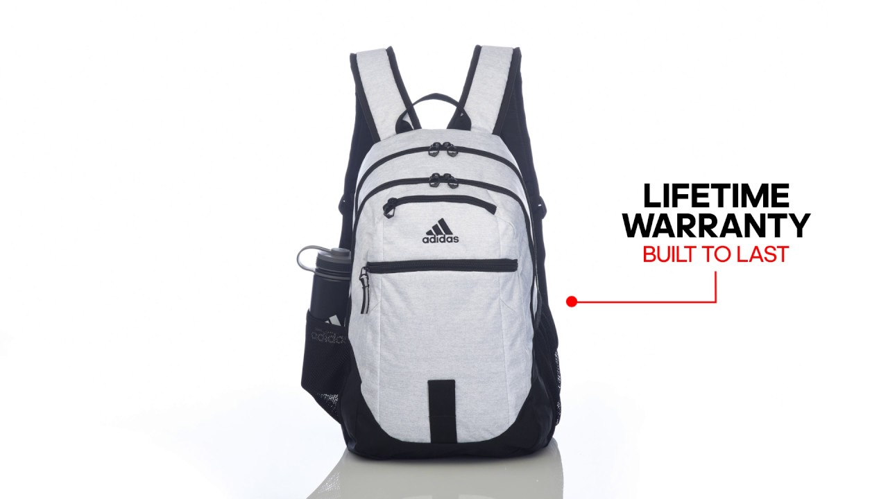 The Built To Last adidas Foundation III Backpack - YouTube d2638c0de2844